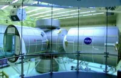 Raumstation ISS (Standbild aus Imagefilm)
