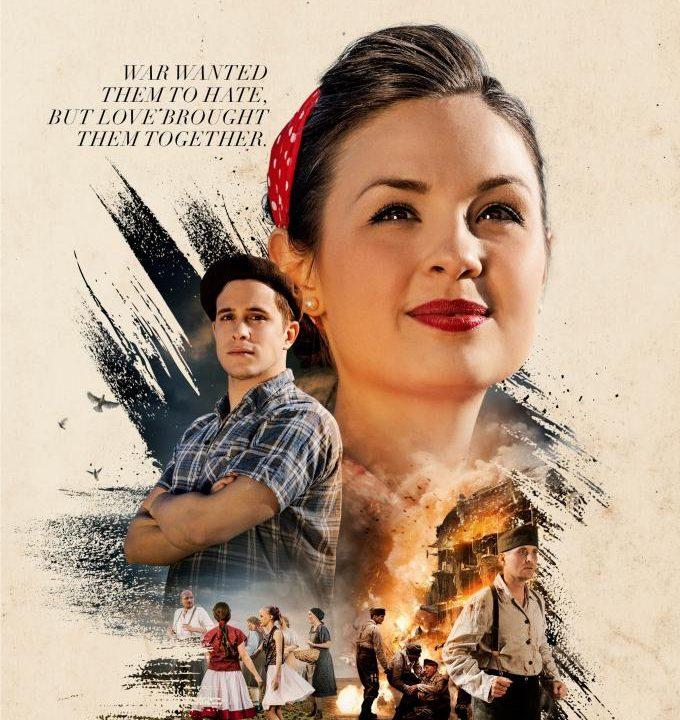 Internationales Filmplakat für Kinofilm Mademoiselle Marie