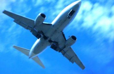 Flugzeug (Standbild aus Werbspot)