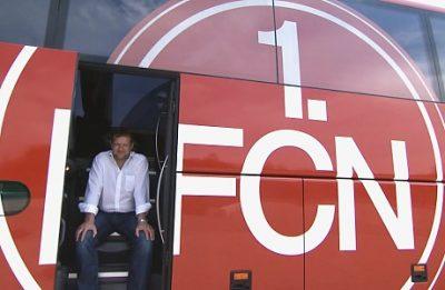 Busfahrer 1. FC Nürnberg (Standbild aus Werbepot)
